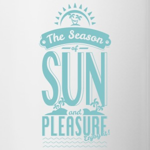 Season of Sun & Pleasure Mugs & Drinkware - Contrast Coffee Mug