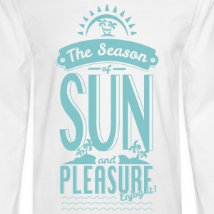 Season of Sun & Pleasure Long Sleeve Shirts - Men's Long Sleeve T-Shirt