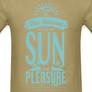 Season of Sun & Pleasure T-Shirts - Men's T-Shirt