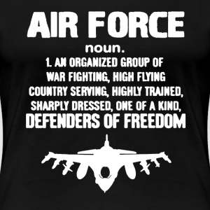 Air Force Shirt - Women's Premium T-Shirt