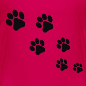 Paw Prints - Toddler Premium T-Shirt