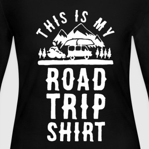 Road Trip Shirt - Women's Long Sleeve Jersey T-Shirt