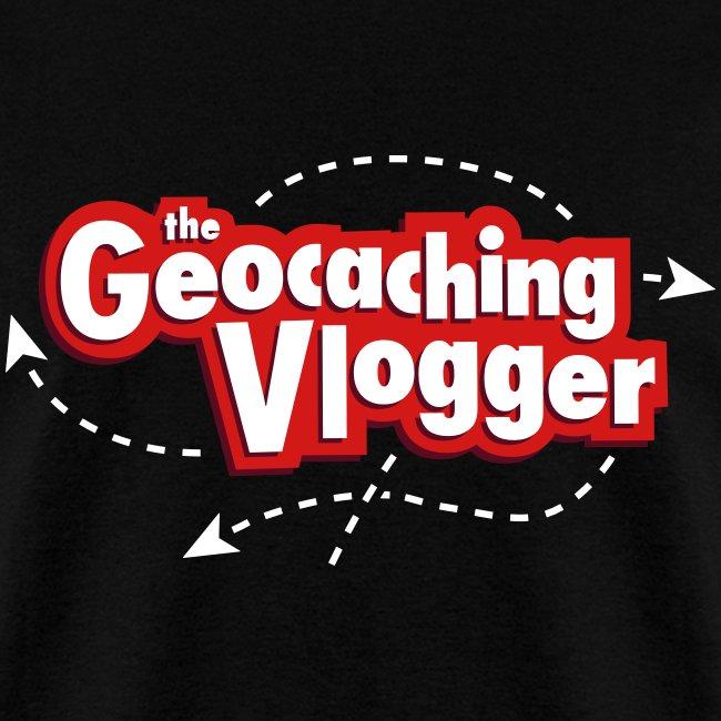 Geocaching Vlogger T-Shirt Black