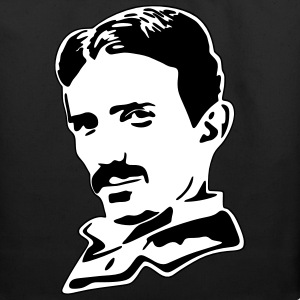 Vector Design-Nikola Tesla Bags & backpacks - Eco-Friendly Cotton Tote