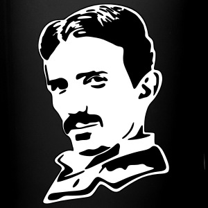 Vector Design-Nikola Tesla Mugs & Drinkware - Full Color Mug