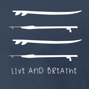 Live and breathe - Men's Premium T-Shirt