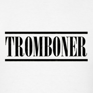 tromboner black - Men's T-Shirt