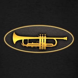 trumpet gold - Men's T-Shirt