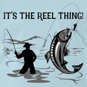 It's the Reel Thing - Men's Premium T-Shirt