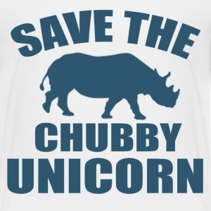 SAVE THE CHUBBY UNICORN - Kids' Premium T-Shirt