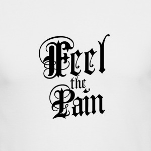 Feel the pain - Men's Long Sleeve T-Shirt by Next Level