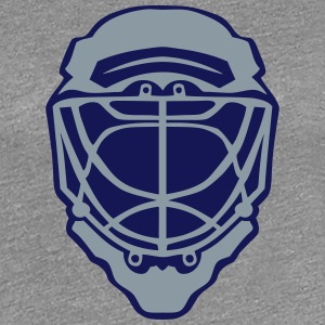 ice hockey goalkeeper helmet 1 T-Shirts - Women's Premium T-Shirt