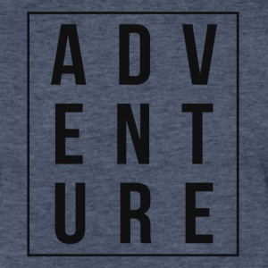 Adventure Boxed Tee - Fitted Cotton/Poly T-Shirt by Next Level