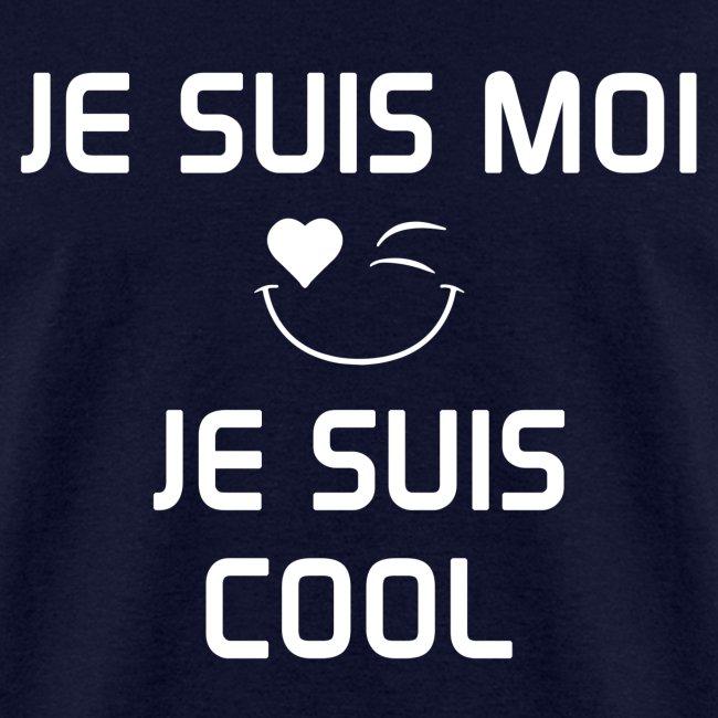JE SUIS MOI - JE SUIS COOL 100%cotton