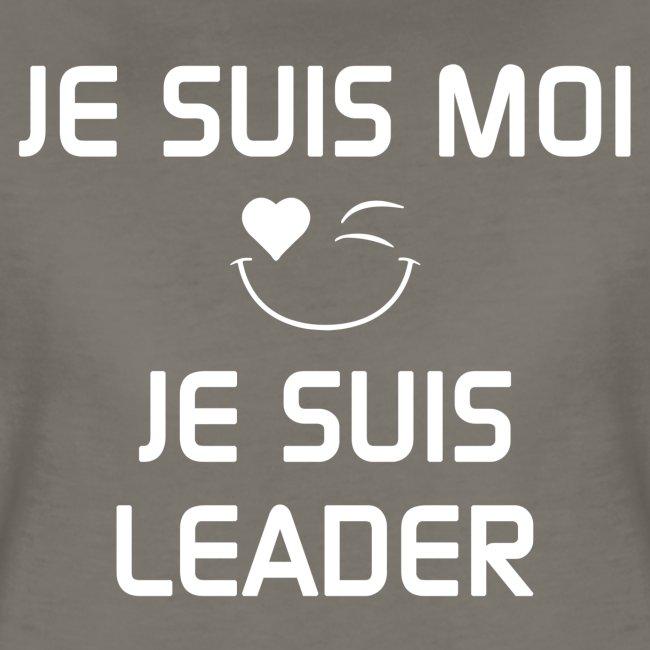 JE SUIS MOI - JE SUIS LEADER 100%cotton