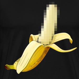 Censored Banana - Men's Premium T-Shirt