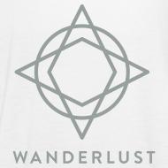 Design ~ Wanderlust Tank - Womens White