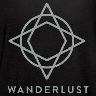 Design ~ Wanderlust Tank - Womens Black