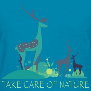 take_care_of_nature_06201601 T-Shirts - Women's T-Shirt