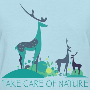 take_care_of_nature_06201603 T-Shirts - Women's T-Shirt