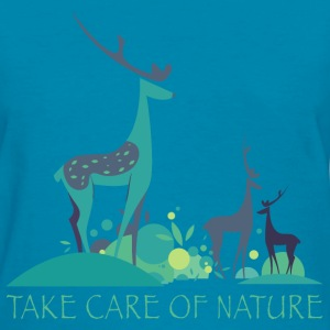 take_care_of_nature_06201602 T-Shirts - Women's T-Shirt