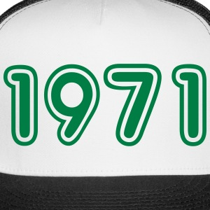 1971, Numbers, Year, Year Of Birth Sportswear - Trucker Cap