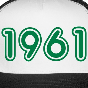 1961, Numbers, Year, Year Of Birth Sportswear - Trucker Cap
