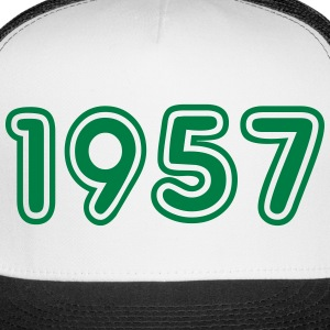 1957, Numbers, Year, Year Of Birth Sportswear - Trucker Cap
