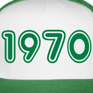1970, Numbers, Year, Year Of Birth Sportswear - Trucker Cap