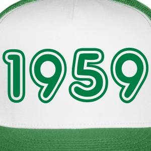 1959, Numbers, Year, Year Of Birth Sportswear - Trucker Cap