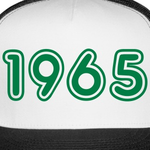 1965, Numbers, Year, Year Of Birth Sportswear - Trucker Cap