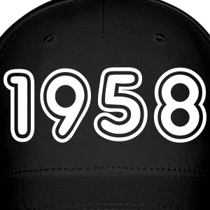 1958, Numbers, Year, Year Of Birth Sportswear - Baseball Cap