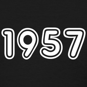 1957, Numbers, Year, Year Of Birth T-Shirts - Women's T-Shirt