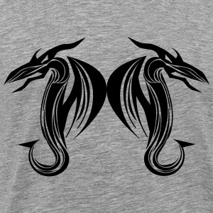 Dual Dragons - Men's Premium T-Shirt