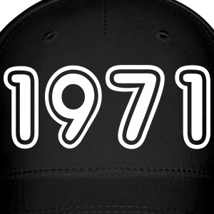 1971, Numbers, Year, Year Of Birth Sportswear - Baseball Cap