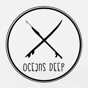 ocean deep circle - Men's Premium T-Shirt