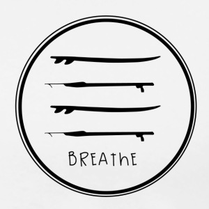 Breathe Circle F - Men's Premium T-Shirt
