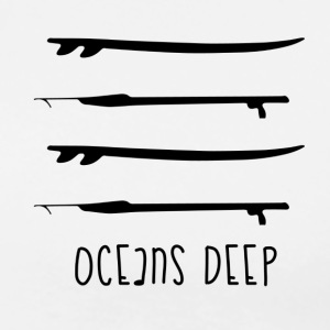 ocean deep  - Men's Premium T-Shirt