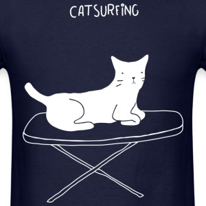 Cat Surfing Tee - Men's T-Shirt