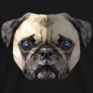 The Pug - Men's Premium T-Shirt