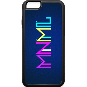 Minimal Type (Colorful) typography - phone cover Phone & Tablet Cases - iPhone 6/6s Rubber Case