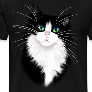 TUX-Tuxedo cats rock - Men's Premium T-Shirt