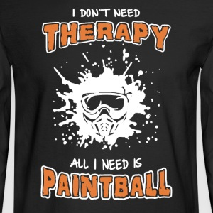 Paintball Shirt - Men's Long Sleeve T-Shirt