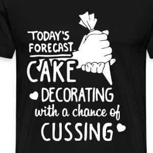 Cake Decorating Shirt - Men's Premium T-Shirt