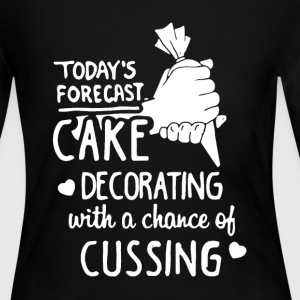 Cake Decorating Shirt - Women's Long Sleeve Jersey T-Shirt
