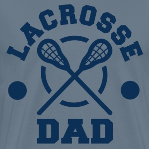 LACROSSE DAD - Men's Premium T-Shirt