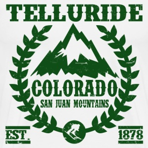 TELLURIDE COLORADO SAN JUAN MOUNTAIN  - Men's Premium T-Shirt