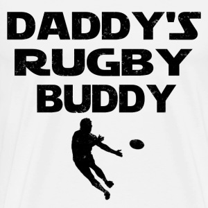 DADDY RUGBY BUDDY - Men's Premium T-Shirt