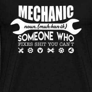 MECHANIC DEFINITION - Men's Premium T-Shirt