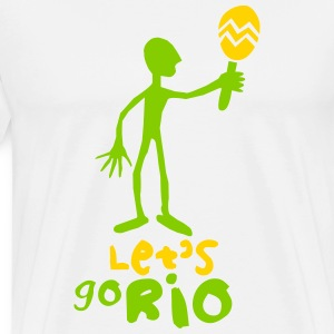 Let's go Rio - Men's Premium T-Shirt